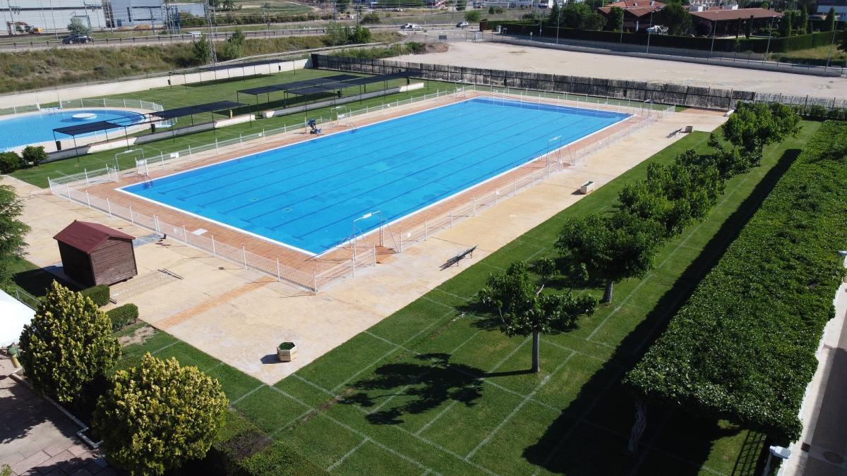 Reforma de piscina olímpica en Calatayud