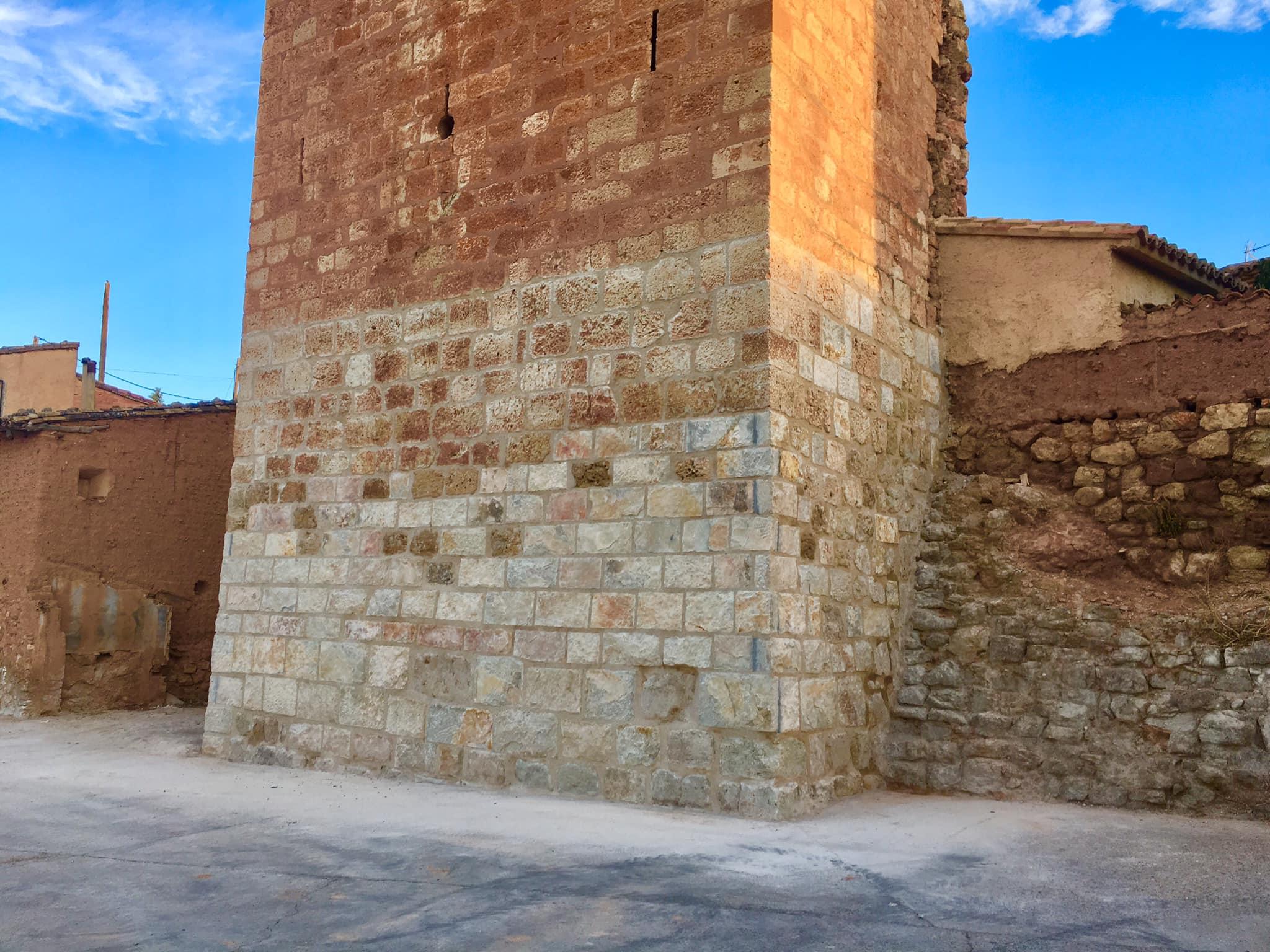 Rehabilitación parcial de la torre medieval de Torralba de Ribota